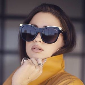 🆕 Quay Australia Oversize Cat-Eye Sunglasses